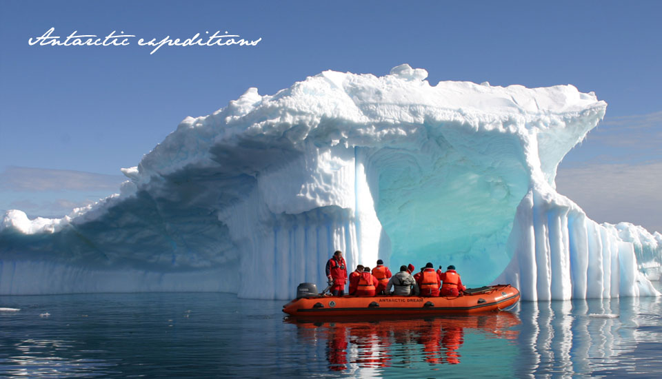 Antarctic expeditions. Transform yourself from an observer to an explorer